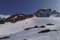 Mte. Rosa - Punta Giordani 4.046 m, 13-14th July 2013 - Photo 12-