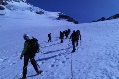 Mte. Rosa - Punta Giordani 4.046 m, 13-14th July 2013 - Photo 6 -