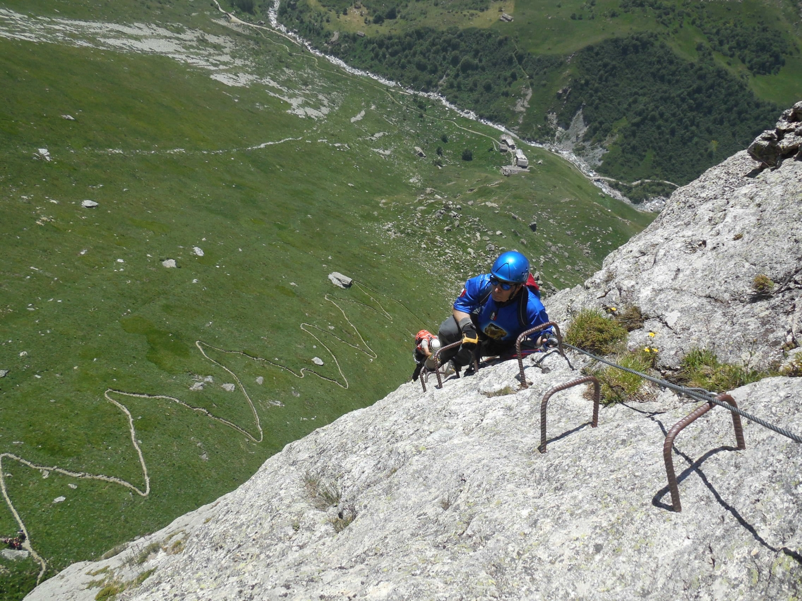 Rocca Senghi Via Ferrata 28th June 2015 - Photo 10 -