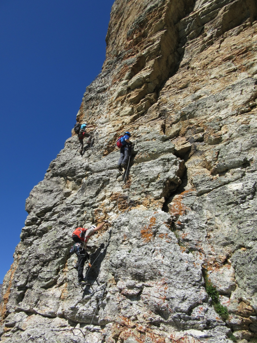 Rocca Senghi Via Ferrata 28th June 2015- Photo 5 -