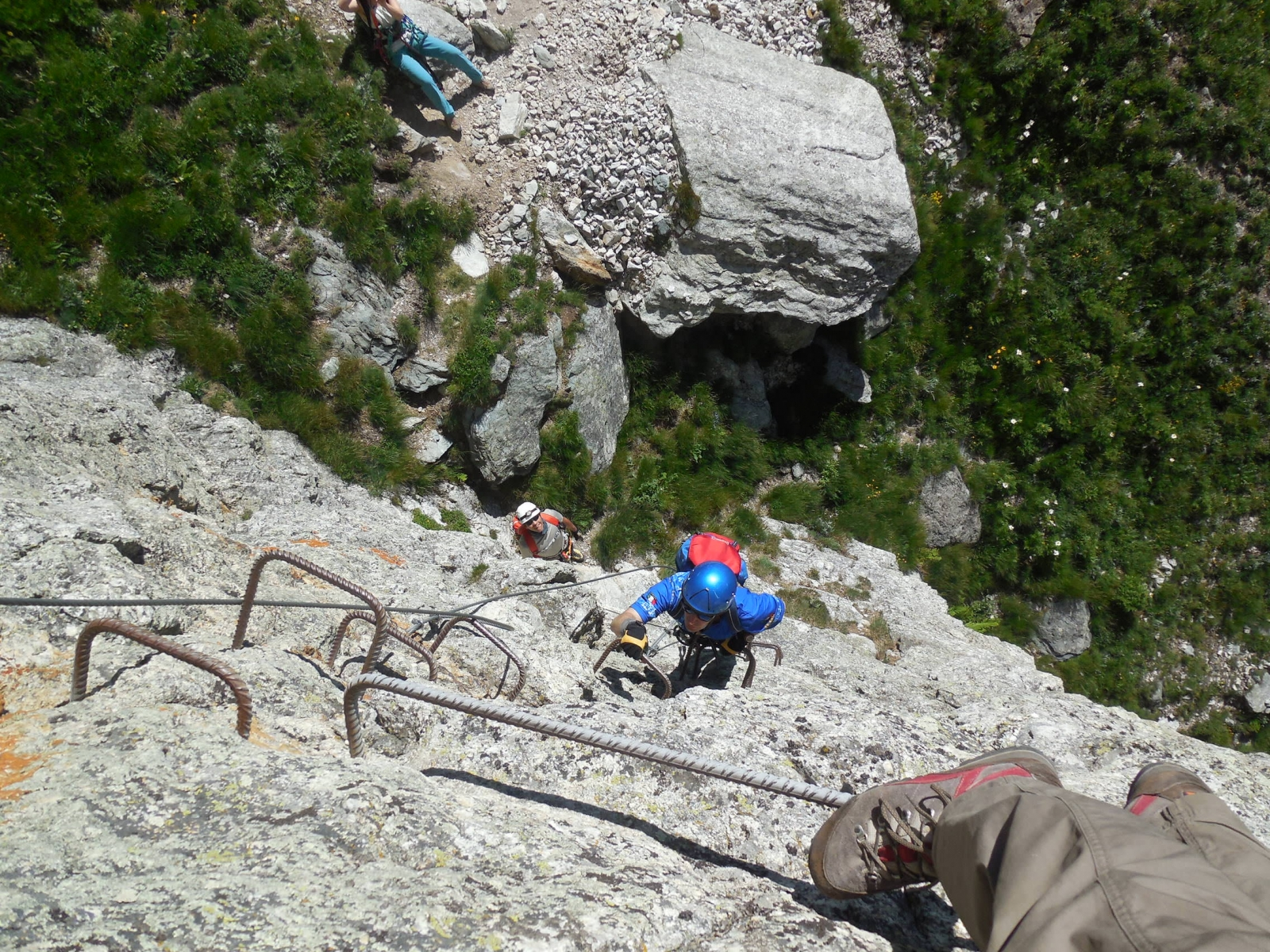 Rocca Senghi Via Ferrata 28th June 2015 - Photo 8 -