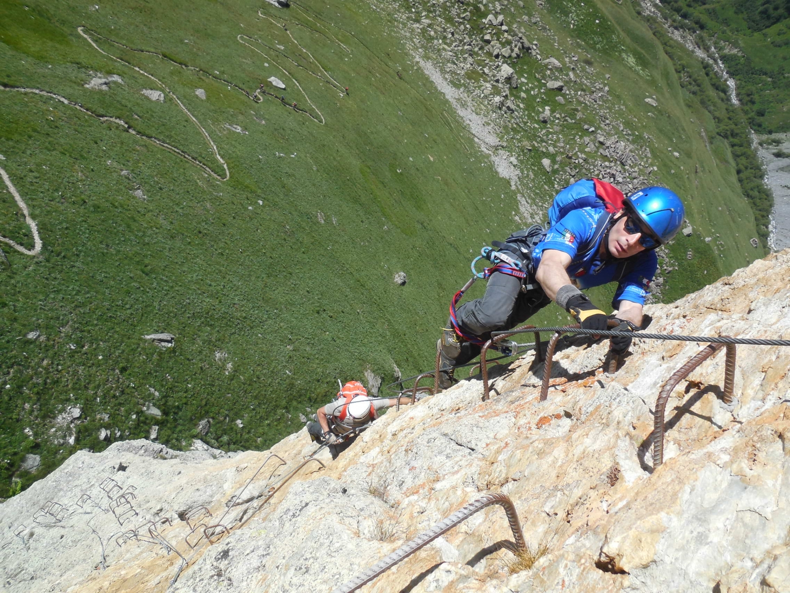 Rocca Senghi Via Ferrata 28th June 2015 - Photo 9 -