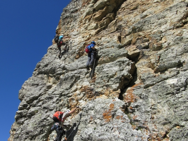 Rocca Senghi Via Ferrata 28th June 2015
